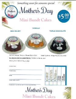 Mother's Day Cakes for Sale!